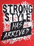 【30% OFF】NXT シンスケ・ナカムラ Strong Style Has Tシャツ (L)