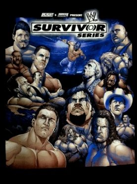 BIG BLUE】WWE Tシャツ