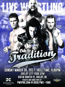 PWX Ode to Tradition DVD (3/26/17)