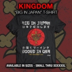 【78% OFF】ROH キングダム Big in Japan Tシャツ (M)