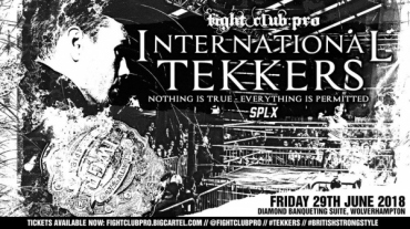 【予約】Fight Club Pro International Tekkers 2018 DVD