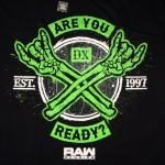 DX RAW Reunion: Are You Ready Tシャツ