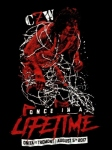 CZW 大仁田厚 Once in a Lifetime Tシャツ (L)
