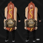 【取り寄せ】AEW FTR Hot Dog Champs Tシャツ