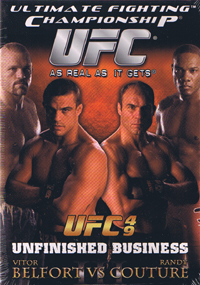 UFC 49 Unfinished Business DVD