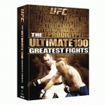 【取り寄せ】UFC Ultimate 100 Greatest Fights DVD