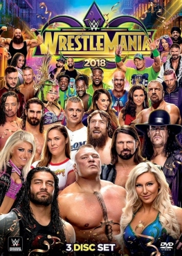 BIG BLUE】WWE レッスルマニア 34 DVD