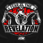 【取り寄せ】AEW FTR - Fear the Revelation Tシャツ